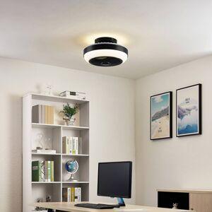 Lindby Lindby Pavel LED stropní ventilátor, černý