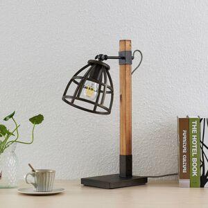 Lindby Lindby Tanina stolní lampa s klecovým stínidlem
