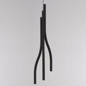 LOUM Loum Algae L závěsné světlo Ø 23 cm 2700 K černá