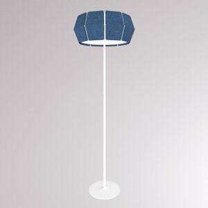 LOUM LOUM Decafelt LED stojací lampa modrá Ø 54,6 cm