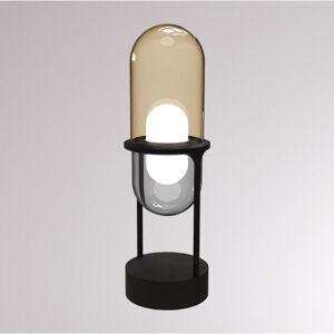 LOUM LOUM Pille LED stolní lampa šampaňská/šedá