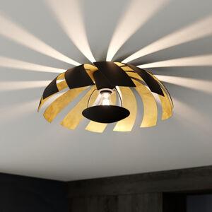 Lucande Lucande Archilleas stropní svítidlo, černá-zlatá