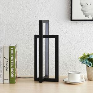 Lucande Lucande Hylda LED stolní lampa v černé barvě