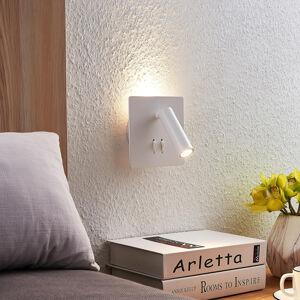 Lucande Lucande Magya LED nástěnné svítidlo bílé 2žár.