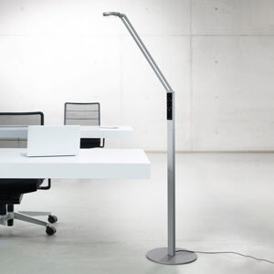 Luctra Luctra Floor Radial LED stojací lampa hliník