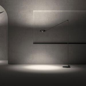 LUMINA Lumina Elle LED stojací lampa, 200cm 3000K černá