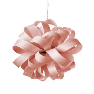 LZF LamPS LZF Agatha Ball závěsné světlo, 84x80cm, růžová