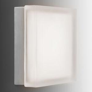 Akzentlicht Moderní LED nástěnné světlo Briq 02L teplá bílá