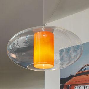 MODO LUCE Modo Luce Ellisse závěsné světlo plast oranžová