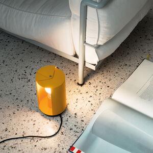 NEMO Nemo Pivotante à Poser stolní lampa, žlutá