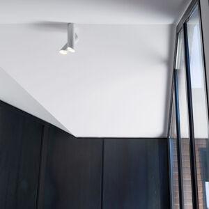 NEMO Nemo Tubes LED stropní svítidlo 2 zdroje bílá/bílá