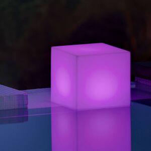 NEWGARDEN Newgarden solární lampa Cuby kostka, výška 32 cm