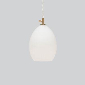 Northern Northern Unika skleněné závěsné světlo, bílé malé