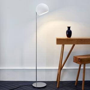NYTA Nyta Tilt Globe Floor stojací lampa nerez bílá