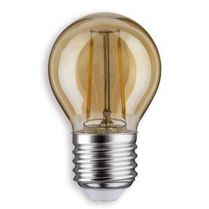 Paulmann Paulmann E27 2,6W 825 LED žárovka-kapka zlatá