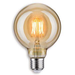 Paulmann Paulmann LED žárovka Globe G95, E27 6,5W 817 zlatá