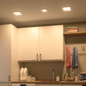 Paulmann Paulmann LED panel Areo 4000K hranatý 11,8 cm bílá