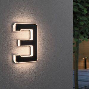 Paulmann Paulmann LED solární číslo domu 3