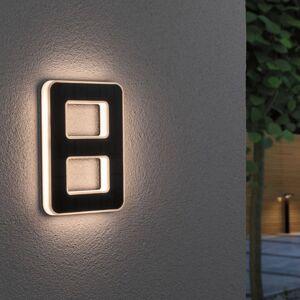 Paulmann Paulmann LED solární číslo domu 8
