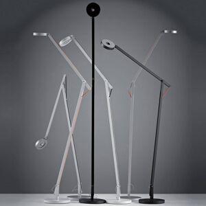Rotaliana Rotaliana String F1 stojací lampa stříbrná, oranž