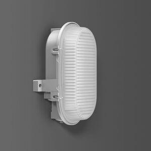 BEGA RZB hliník Standard LED nástěnné světlo, ovál IP66