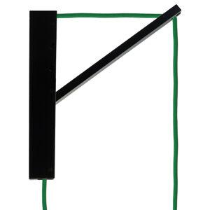 Segula SEGULA Pinocchio nástěnné černé, kabel zelený