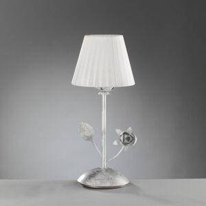 EULUNA Stolní lampa Rose se skládaným stínidlem v bílé