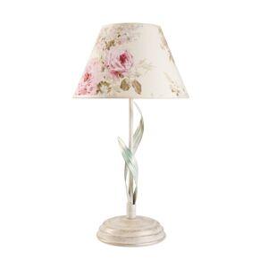 LamKUR Stolní lampa Sara s květinovým vzorem