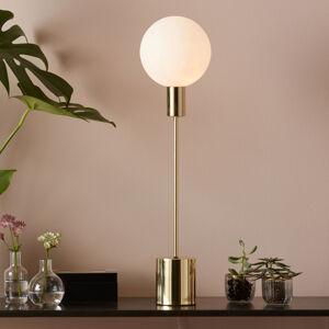 Markslöjd Stolní lampa Uno, zlatá
