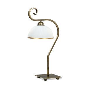 EMIBIG LIGHTING Stolní lampa Wivara LN1, klasický design, zlatá