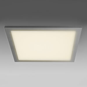 Akzentlicht Ultraploché LED stropní světlo SUN 9, stříbrná, 3K