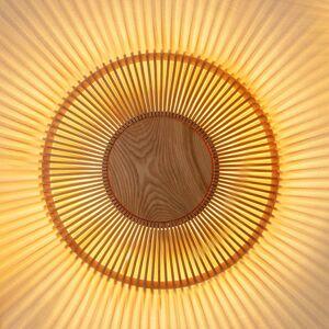 UMAGE UMAGE Clava up nástěnné světlo Ø 49cm dřevo světlé