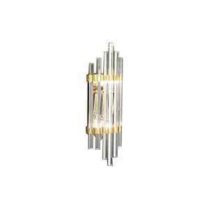 AUSTROLUX BY KOLARZ Nástěnné světlo Ontario, výška 31 cm, zlatá