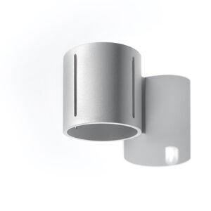 SOLLUX Nástěnné světlo Topa up/down, šedé tělo