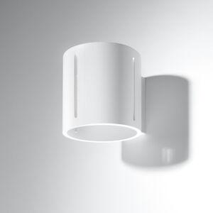 SOLLUX Nástěnné světlo Topa up/down, bílé tělo